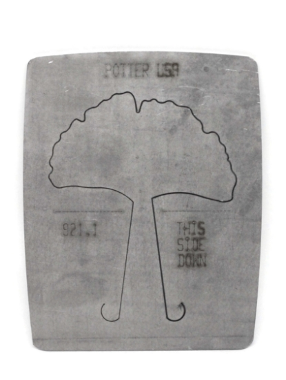 Picture of LAST CALL! Pancake Die 921.1 Large Ginkgo Leaf