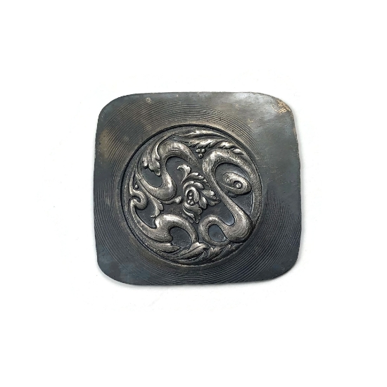 Picture of Ephemeral Amulet Silver Stamping