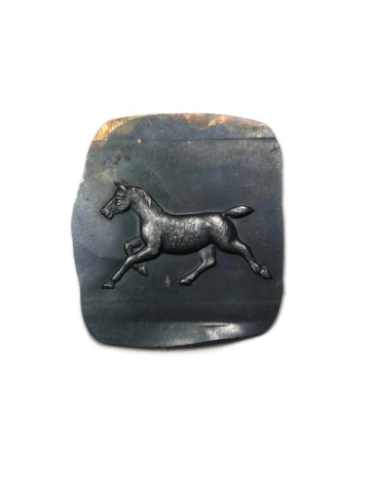 Picture of Trotting Horse Silver Stamping