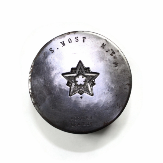 Picture of Paris Star Silver Stamping