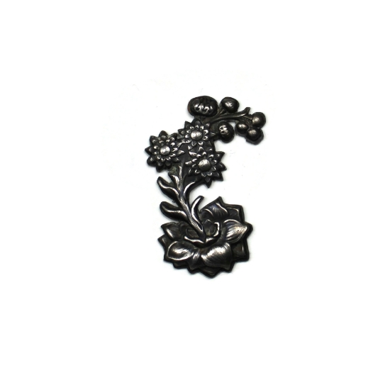 Picture of Flowering Stalk Silver Stamping
