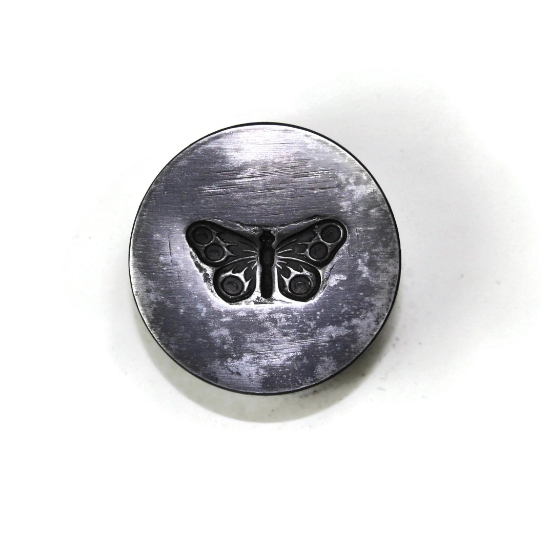Picture of Butterfly of the Six Moons Silver Stamping