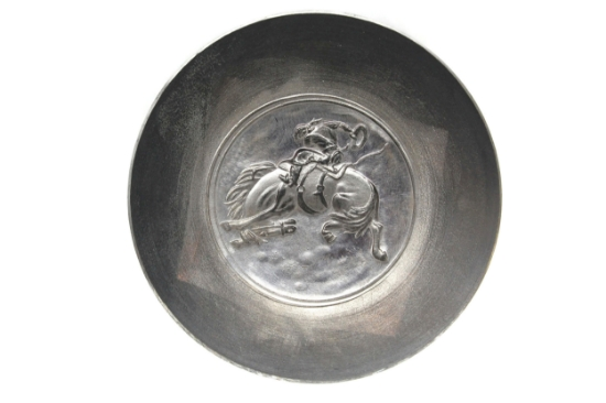 Picture of Bucking Bronco Silver Stamping