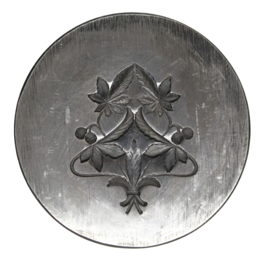 Picture of Parisian Vineyard Charm Silver Stamping