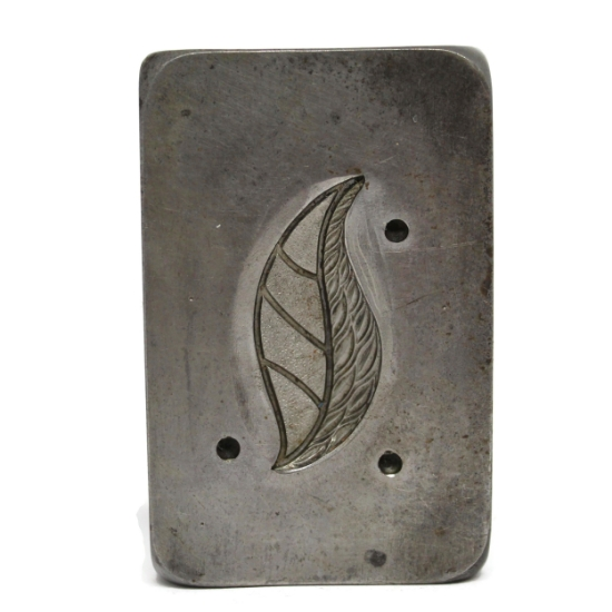 Picture of Nouveau Leaf Silver Stamping