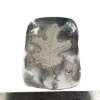 Picture of Diamond Set Oak Leaf Silver Stamping