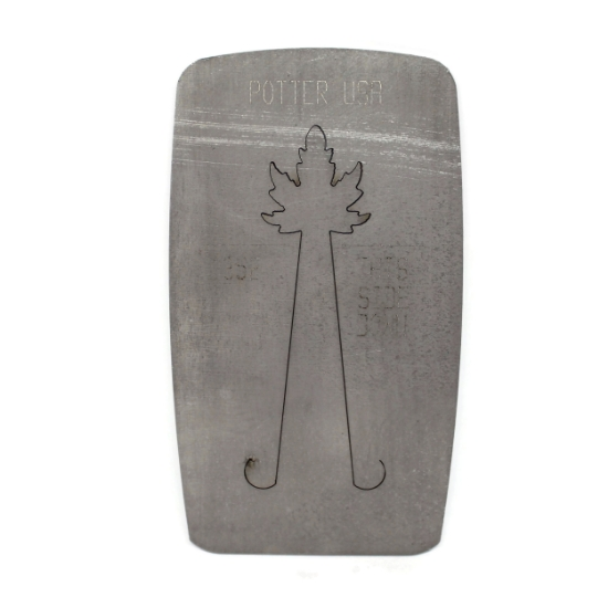 Picture of LAST CALL! Pancake Die 1352 Spikey Autumn Leaf