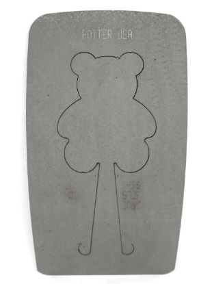 Picture of Pancake Die XM506 Teddy Bear Ornament