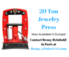 Picture of 20 Ton Hydraulic Jewelry Press - Ships from Europe