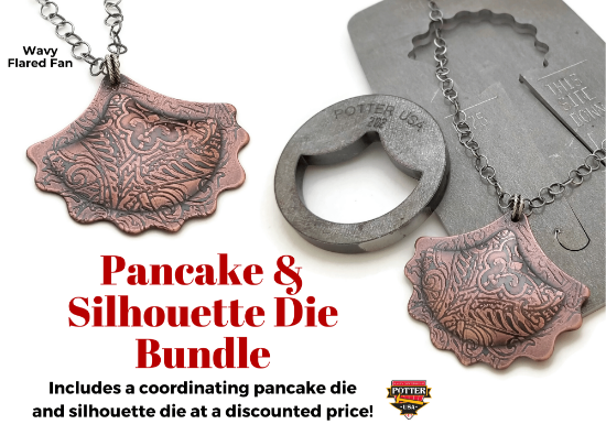 Picture of Pancake & Silhouette Die Bundle: Wavy Flared Fan