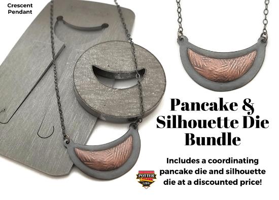 Picture of Pancake & Silhouette Die Bundle: Crescent Pendant