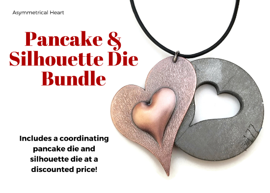 Picture of Pancake & Silhouette Die Bundle: Asymmetrical Heart