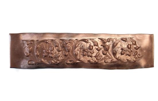 Picture of Progressive Copper Strip Nouveau Floral PCS001