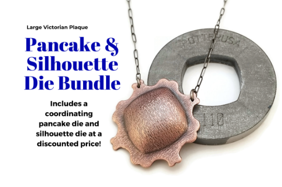 Picture of LAST CALL! Pancake & Silhouette Die Bundle: Large Victorian Plaque