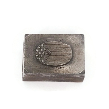 Picture of Impression Die Delicate Oval Flag