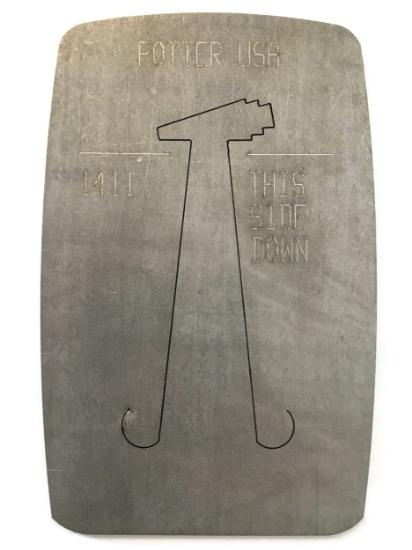 Picture of Pancake Die 1411 Art Deco Drop