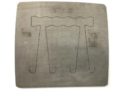 Picture of Pancake Die R136 Joni's Gentle Wave Ring (Long)