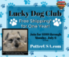 Picture of Lucky Dog Club June 2020