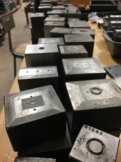 Picture of Surplus Tool Steel Master Female Dies / Bench Blocks
