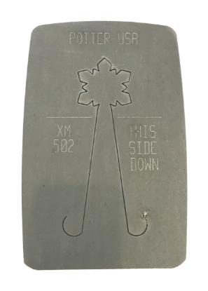 Picture of Pancake Die XM502 Deco Snowflake