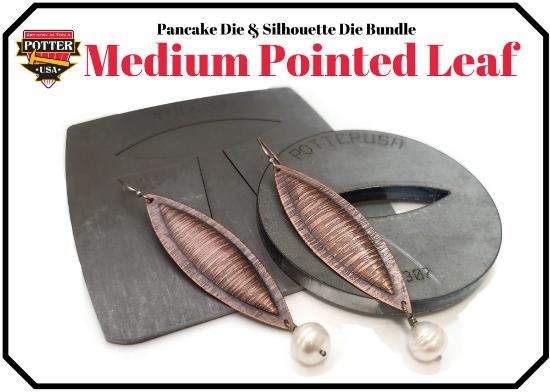 Picture of Pancake & Silhouette Die Bundle: Medium Pointed Leaf