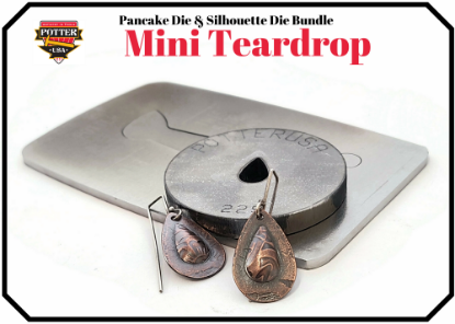 Picture of Pancake & Silhouette Die Bundle: Mini Teardrop