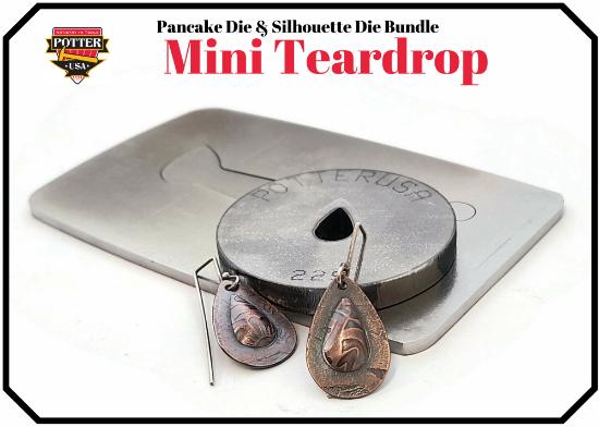 Picture of Pancake & Silhouette Die Bundle: Mini Teardrop