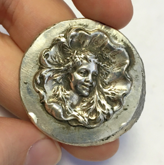 Picture of Silver Stamping Wood Nymph