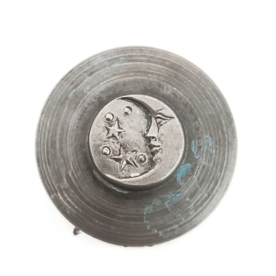 Picture of Impression Die Left-facing Crescent Moon