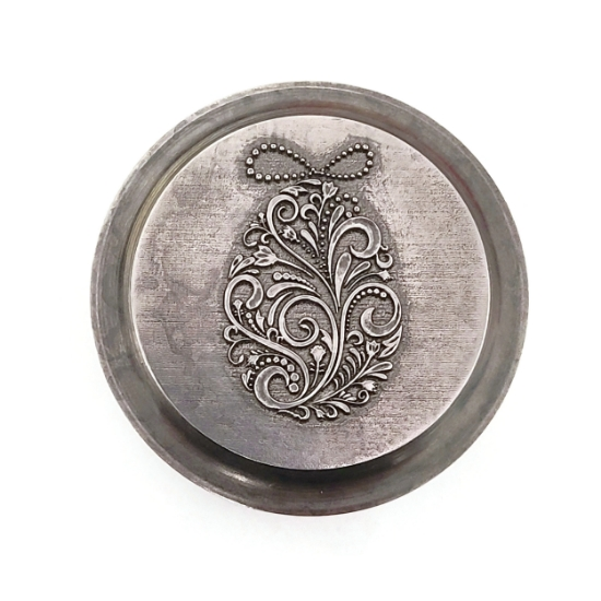 Picture of Impression Die Engraved Easter Egg