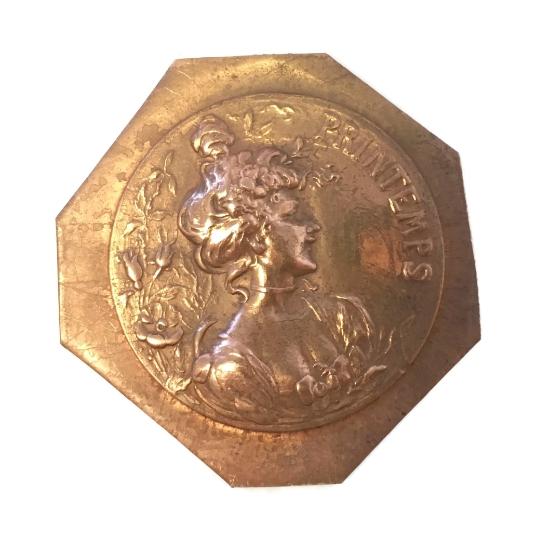 Picture of Copper Stampings La Dame Du Printemps Set of 2