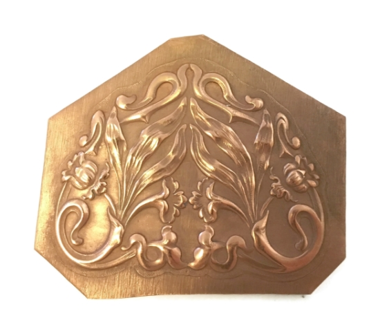 Picture of Copper Stampings Daffodil Flourish Set of 2