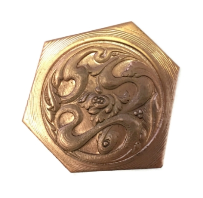 Picture of Copper Stampings Flourishing Well Set of 2