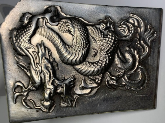Picture of Silver Stamping Ancient Dragon
