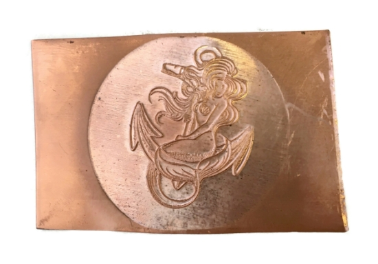 Picture of Copper Stampings Mermaid Anchor Set of 2