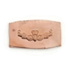 Picture of Copper Stamping Claddagh Necklace Charm, Set of 2