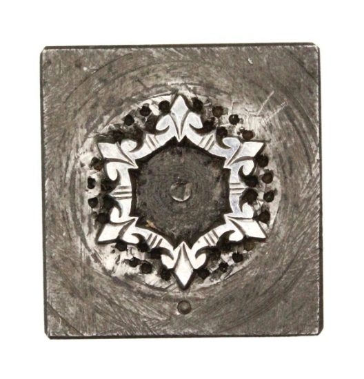 Picture of Impression Die Snowflake with Points